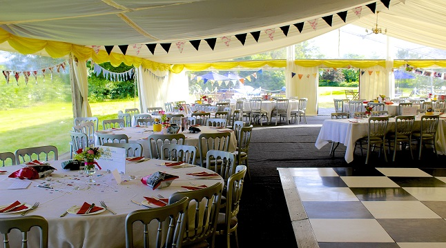 Party themed Marquee