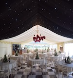 dinner themed marquee